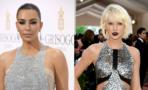 Encontronazo entre Kim Kardashian y Taylor