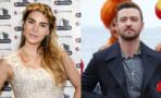 Belinda le obsequia a Justin Timberlake