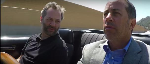 Judd Apatow y Jerry Seinfeld en