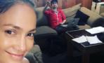 Jennifer López trabaja con Lin-Manuel Miranda