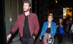 Miley Cyrus y Liam Hemsworth juntos