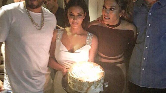 Kim Kardashian, Jennifer López, Calvin Harris,