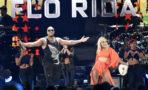 Bebe Rexha, right, and Flo Rida