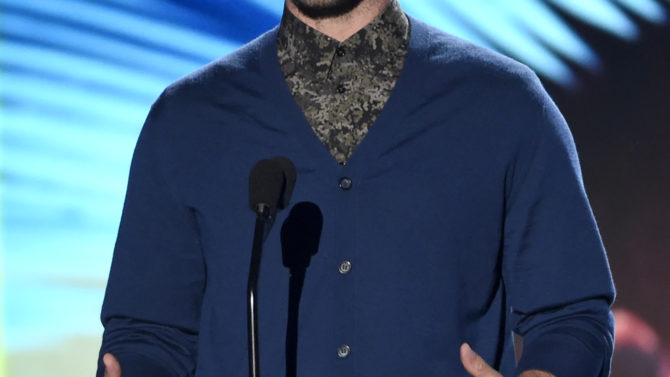 Teen Choice Awards 2016: Justin Timberlake