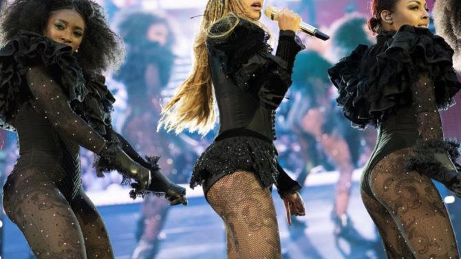 Vestuario de Beyoncé Formation Tour