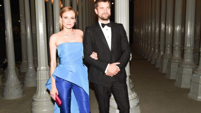 Diane Kruger y Joshua Jackson se