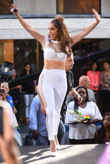 JLo en el 'Today'