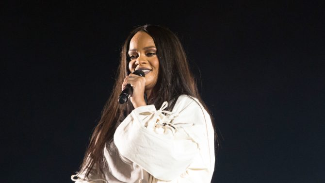 Rihanna in concert, Oslo. Norway -