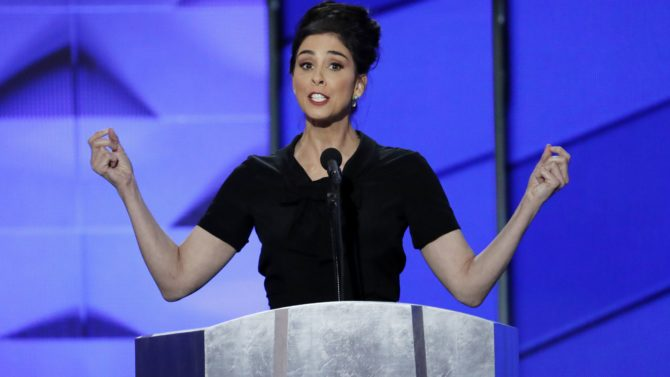 Sarah Silverman en la Convención Nacional