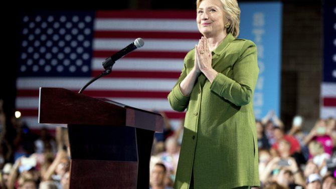 Hillary Clinton, primera mujer nominada a