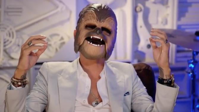 Marc Anthony se disfraza de Chewbacca