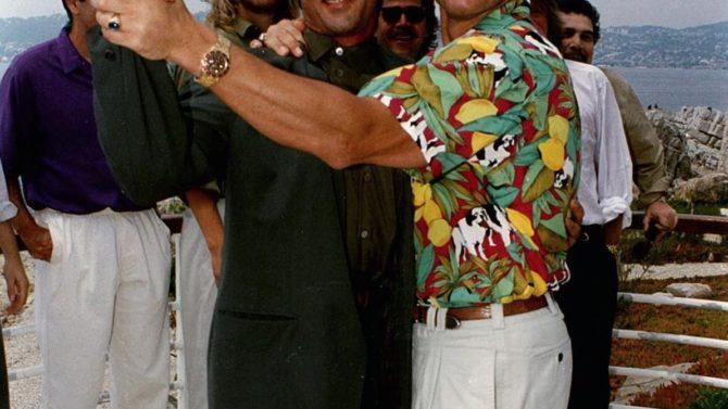 Arnold Schwarzenegger felicita a Sylvester Stallone