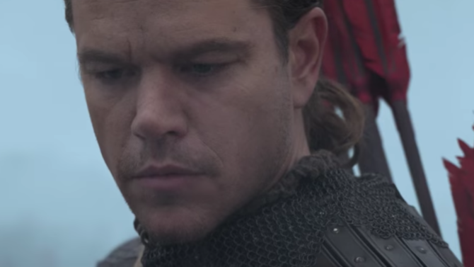 Primer tráiler de 'The Great Wall'