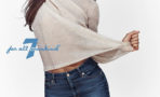 Zoe Saldaña imagen campaña jeans 7