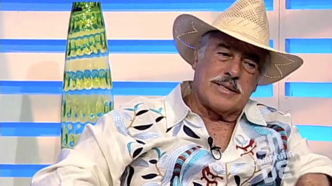 Fanáticos Andrés García lamentan parálisis