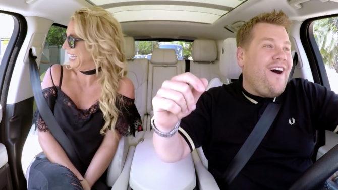 video primer adelanto Britney Spears Carpool