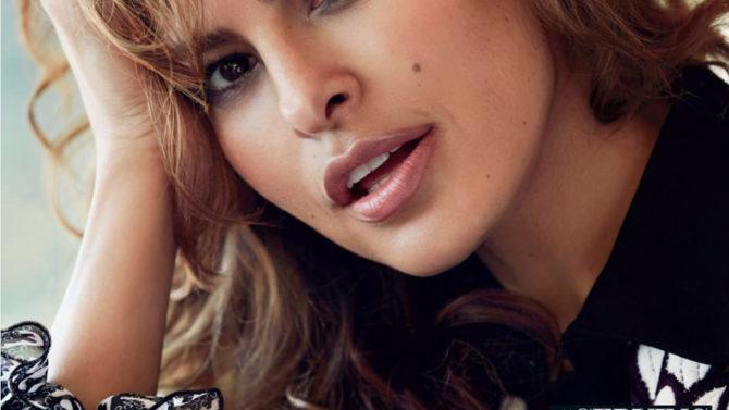 Foto Eva Mendes portada Latina hijas