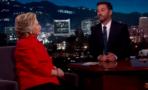 Hillary Clinton en Jimmy Kimmel Live!