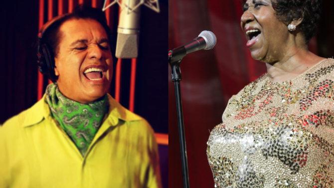Juan Gabriel duo Aretha Franklin muerte