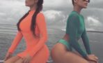 Fotos videos Kim Kardashian vacaciones México