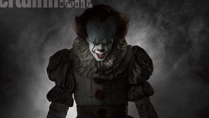 First Look: 'It' Clown Pennywise Is