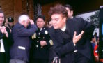 SINGER JUAN GABRIEL RECEIVING A STAR