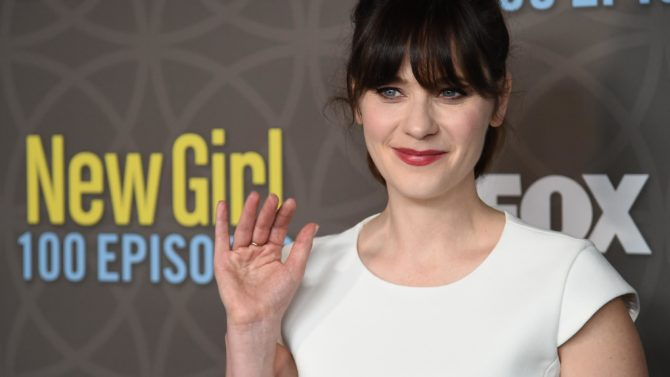 Zooey Deschanel 'New Girl' TV Series,