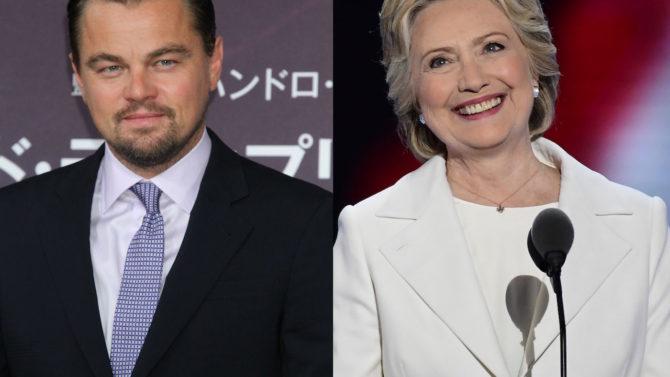 Leonardo DiCaprio evento recaudación de fondos