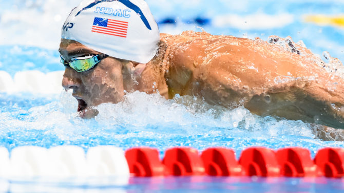 US Olympic Swimming Trials, Omaha, USA