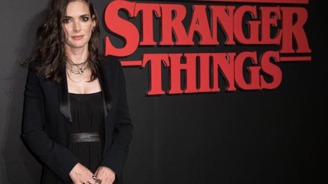 Winona Ryder 'Stranger Things' Netflix TV