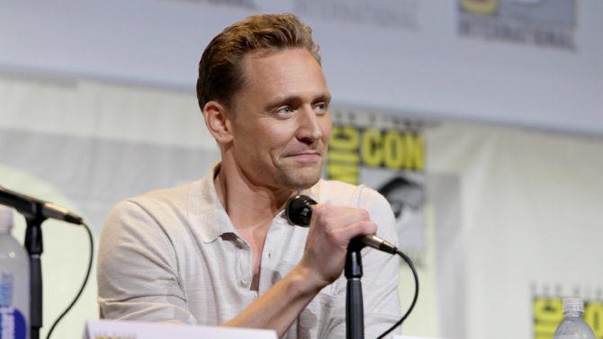 Tom Hiddleston Warner Bros. Presentation panel,