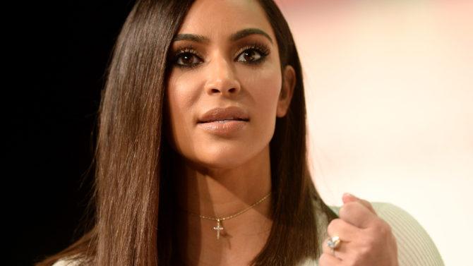 Kim Kardashian en BlogHer16