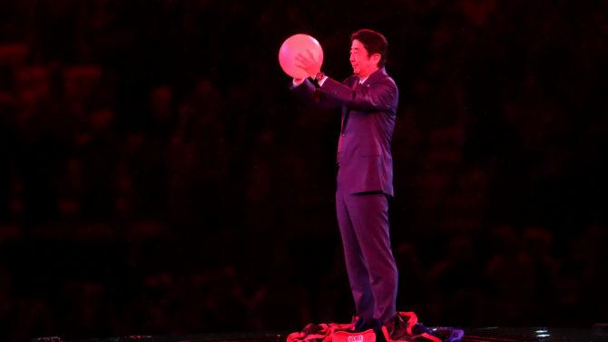 Shinzo Abe en Rio 2016