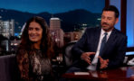 Video Salma Hayek entrevista Jimmy Kimmel