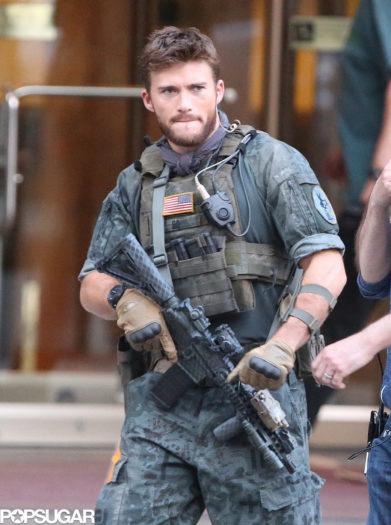 """En 'Suicide Squad', le da vida al personaje del """"teniente GQ Edwards"""""""