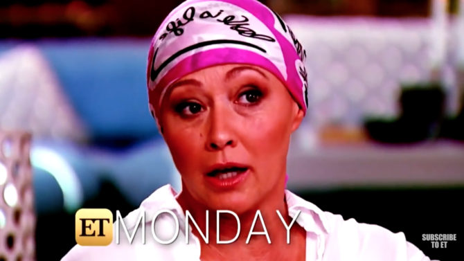 Video Shannen Doherty cancer propaga quimioterapia