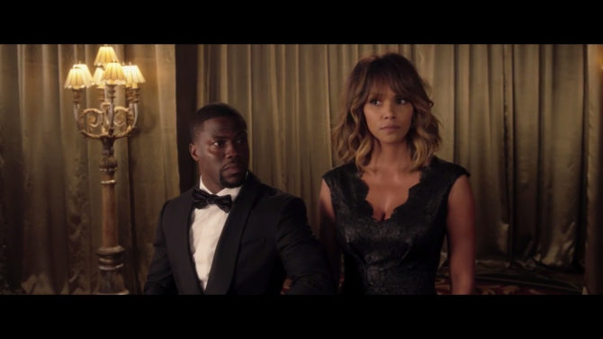 Halle Berry y Kevin Hart