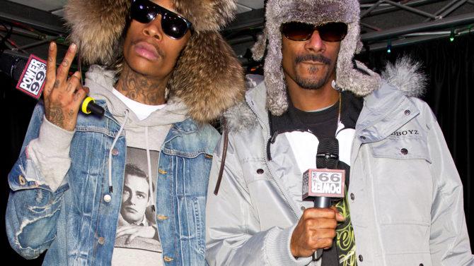 Snoop Dogg and Wiz Khalifa Visit