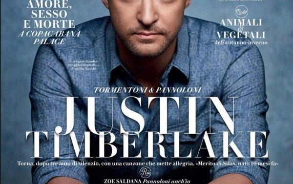 Vanity Fair Justin Timberlake