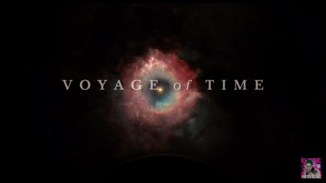 Cate Blanchett tráiler Voyage of Time
