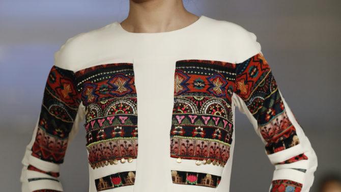 Reshma Querishi semana de la moda