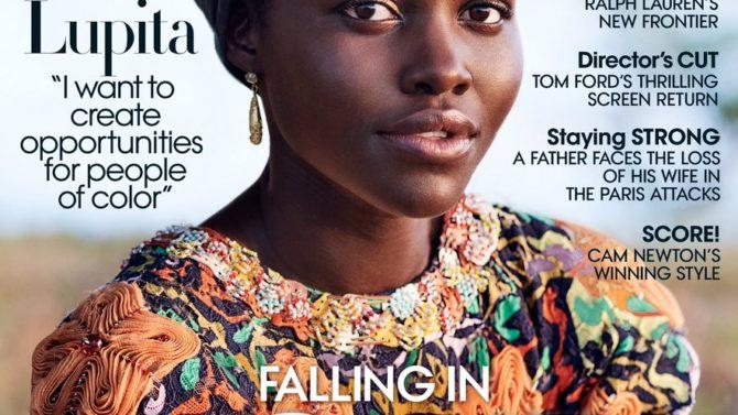 Foto Lupita Nyong'o portada Vogue color