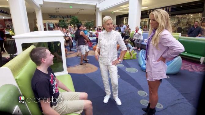 Video Britney Spears y Ellen DeGeneres