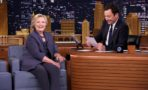 Hillary Clinton y Jimmy Kimmel