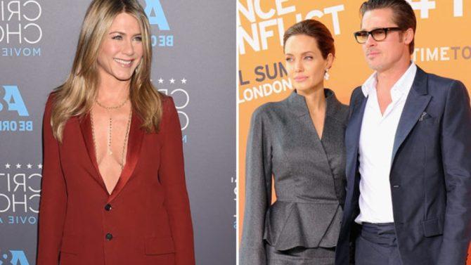 GIFs de Jennifer Aniston tras ruptura