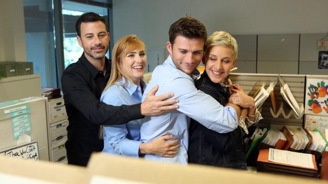 Jimmy Kimmel, Ellen DeGeneres y Scott