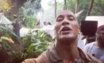 Dwayne Johnson video Jumanji