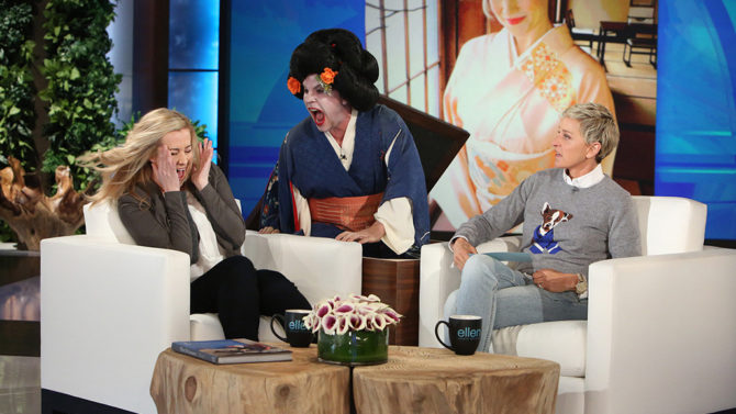 Kellie Pickler en Ellen DeGeneres