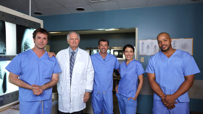 Patrick Dempsey and Other TV Doctors