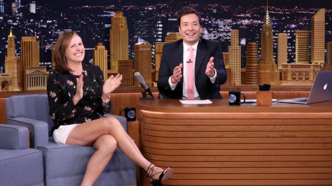 Molly Shannon en The Tonight Show